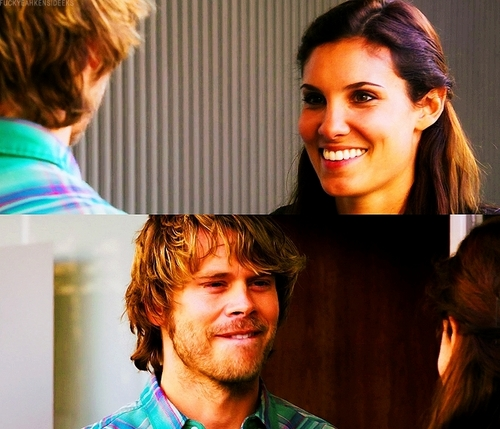 NCIS: Los Angeles Обои with a portrait entitled 2x22- Kensi and Deeks