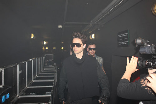 Jared Leto wallpaper containing sunglasses entitled 30 Seconds to Mars in Paris (June 15)