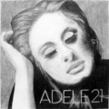 ADELE 21 cover - adele fan art