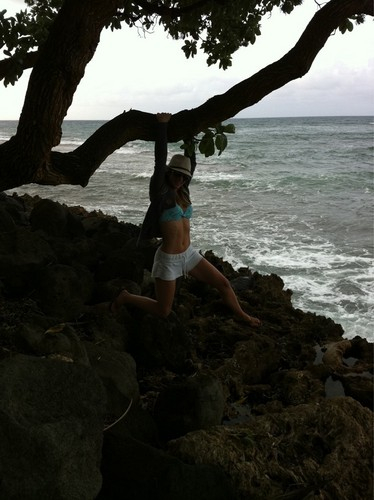 AJ in Hawaii