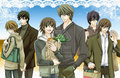 All couples - junjou-romantica fan art