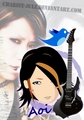 Aoi - the-gazette fan art
