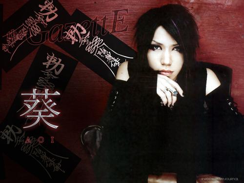 The Gazette fond d'écran entitled Aoi