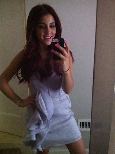 Ariana Grande-dior luncheon