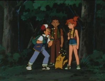 Ash,Misty & Brock