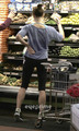 Ashley Greene Grocery shopping after Gym in Studio City, June 14