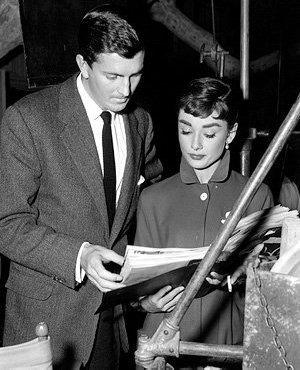 Audrey Hepburn wallpaper titled Audrey Hepburn and  Hubert de Givenchy