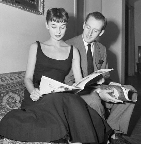 Audrey's romantic life: with James Hanson 1952-1953