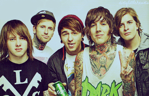 Bring Me The Horizon দেওয়ালপত্র possibly containing a sign entitled BRING ME THE HORIZON!!!<3 :))
