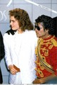 Brooke and Michael - michael-jackson photo