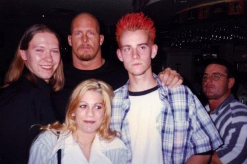 CM Punk and Stone Cold