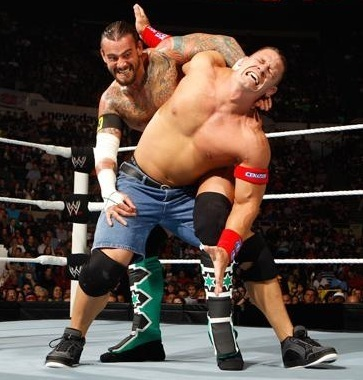 CM Punk vs Cena (all 별, 스타 Raw)