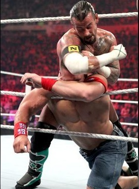 CM Punk vs Cena (all звезда Raw)