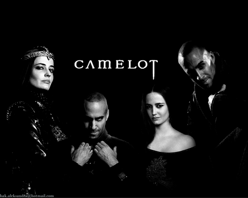 Camelot - Merlin & morgan