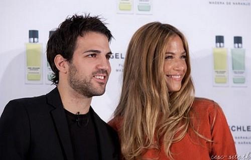 Cesc Fabregas, Martina Klein y su nueva fragancia