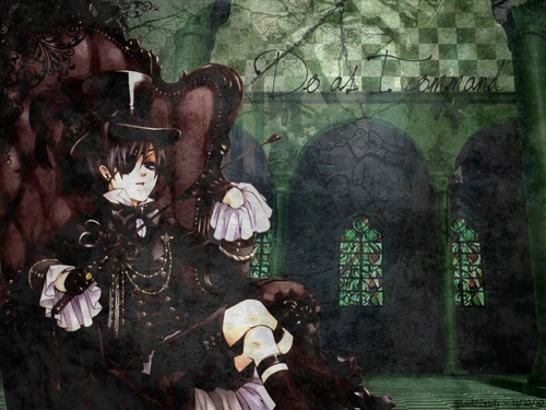 Ciel Phantomhive wallpaper entitled Ciel Phantomhive