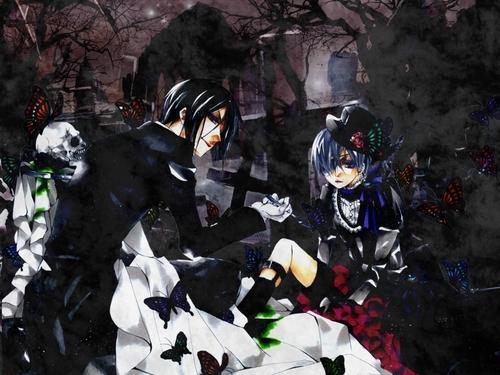 Ciel Phantomhive wallpaper titled Ciel & Sebastian