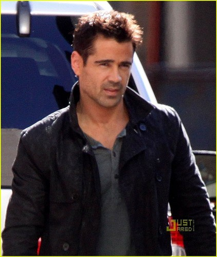 Colin Farrell: 'Total Recall' in Toronto!