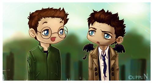 Daniel and Castiel