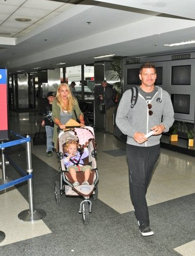 David Boreanaz wallpaper probably containing a diner titled David & family
