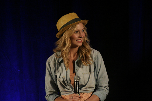 Day 2 of Candice's appearance at Bloody Night Con 2011 in Barcelona, Spain!