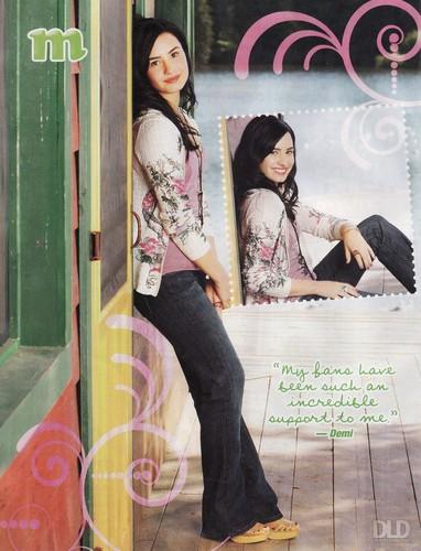 Demi - M Magazine - July 2011