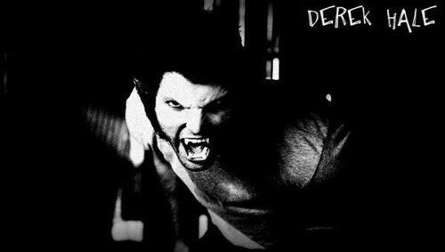 Derek Wolfing out