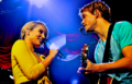 Dianna&Chord @ Glee Live.  - sam-and-quinn photo
