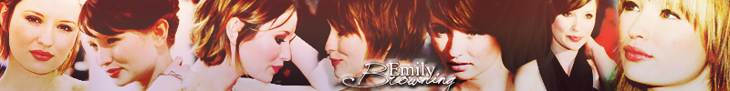 Emily Browning [Banner]