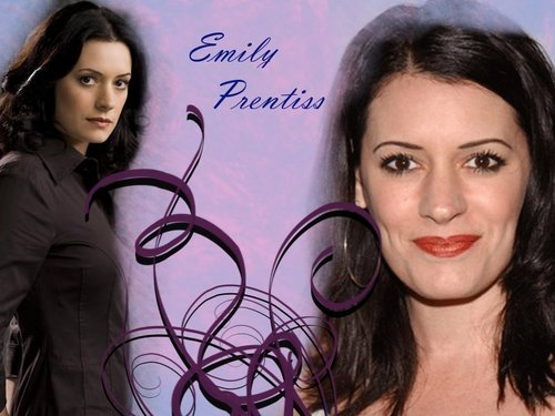 Criminal Minds wallpaper probably containing a portrait called Emily Prentiss