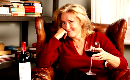 Emma Thompson wallpaper with a wine bar entitled Emma Thompson
