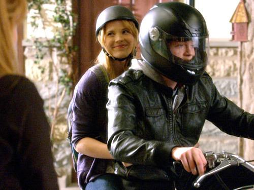 Emmett On His Motorcycle