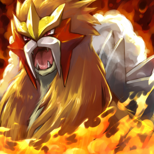 the three legendary dogs images Entei wallpaper and ...