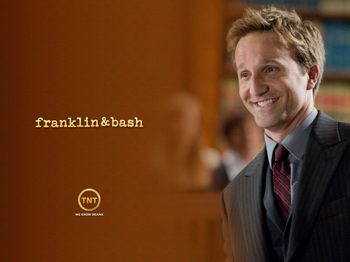Franklin & Bash wallpaper containing a business suit, a suit, and a three piece suit titled Franklin & Bash