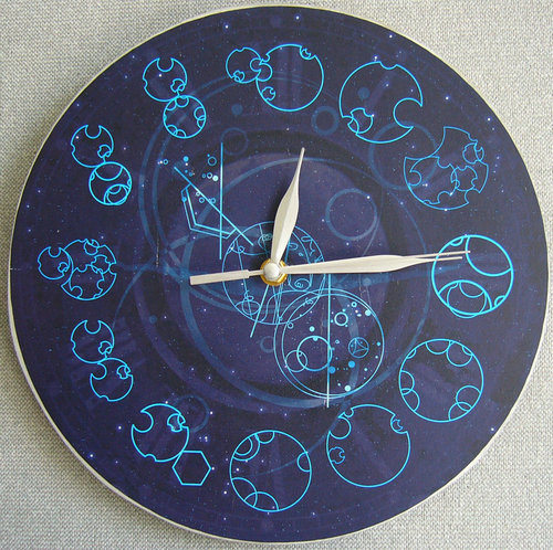 Doctor Who achtergrond entitled Gallifreyan Timepiece