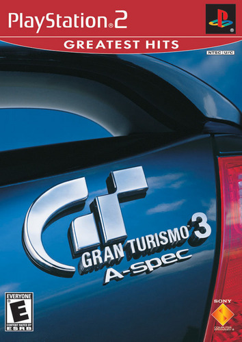 Gran Turismo 3 A-Spec Greatest Hits Cover