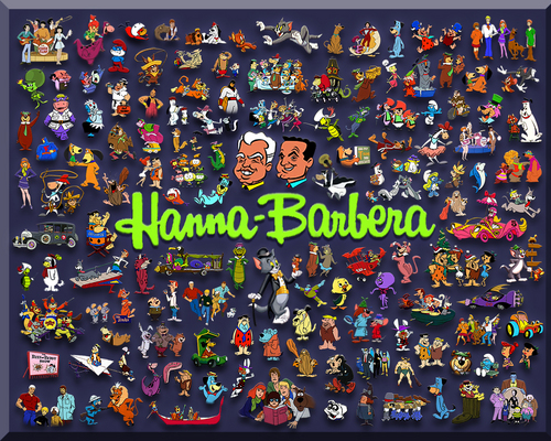Tom and Jerry wallpaper entitled Hanna Barbera