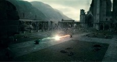 Harry and Voldemort's last battle