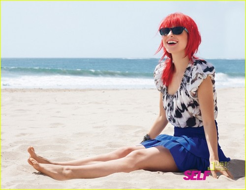 """Paramore wallpaper possibly with sunglasses titled Hayley's """"Self"""" Photoshoot"""
