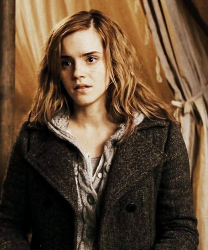 hermione granger wallpaper containing a well dressed person titled Hermione (DH)