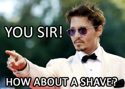 How about a shave