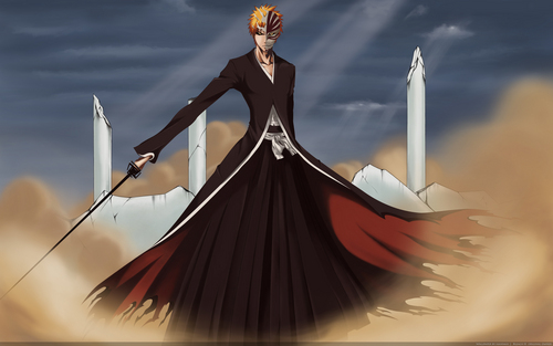 Bleach Anime wallpaper entitled Ichigo