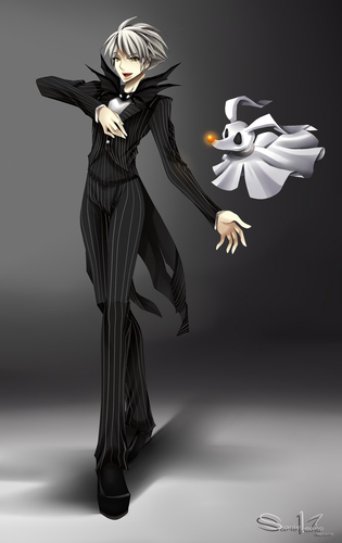 Jack Skellington wallpaper possibly containing a business suit and a well dressed person called Jack Skellington