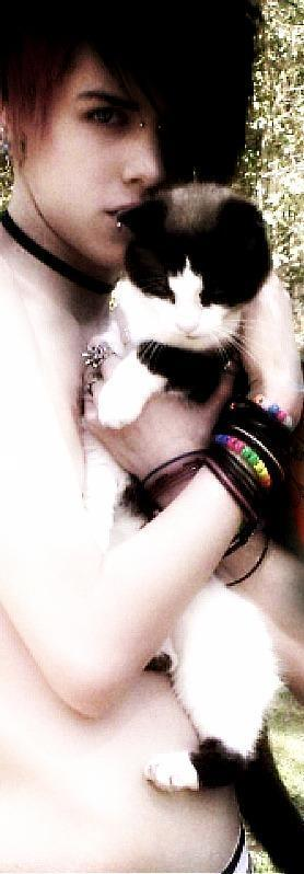 Jayy and his Kitty