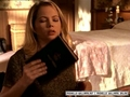 Jen finding the bible