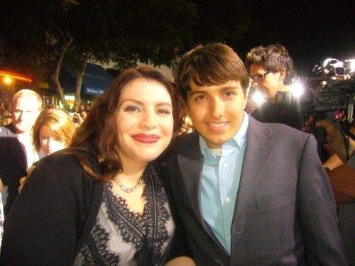 Kaleb with Stephenie Meyer