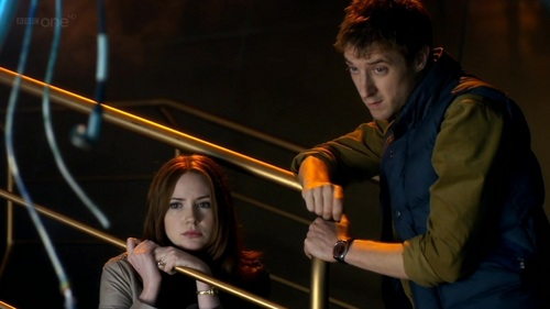 Karen/Matt - 6x04 - The Doctor's Wife - matt-smith-and-karen-gillan Screencap