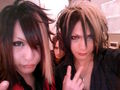 Ken from And and Ibuki from D=OUT. They're brothers  - japanese-bands photo