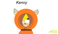Kenny the kitty.