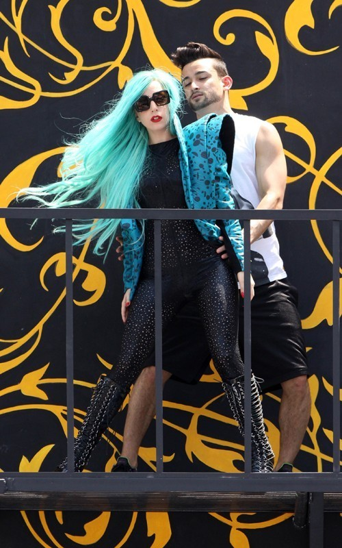 Lady Gaga was busy rehearsing for the 2011 MuchMusic Video Awards in Toronto on Saturday